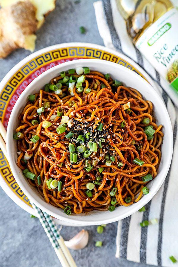 Aromatic Sour Egg Noodles Recipe Food Noodles Egg Noodle Recipes