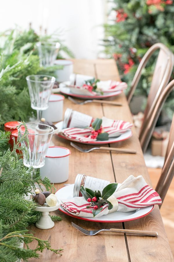 112 Best Décoration De Table Noël Images On Pinterest | Christmas