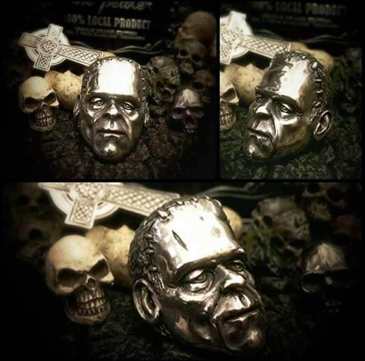 Frankenkoft Ring Pewter material Ready stock and ready for order