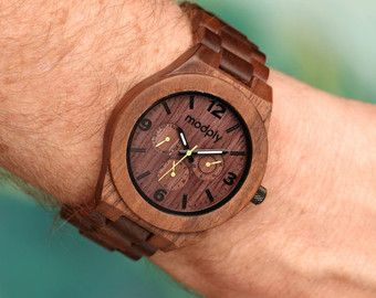 Men's Wooden Watch Wooden Watch for Him Gift for Him