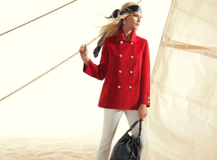 Per la nuova stagione Luisa Spagnoli presenta una collezione abbigliamento elegante e sofisticata, dalle linee sobrie e dai colori pastello.