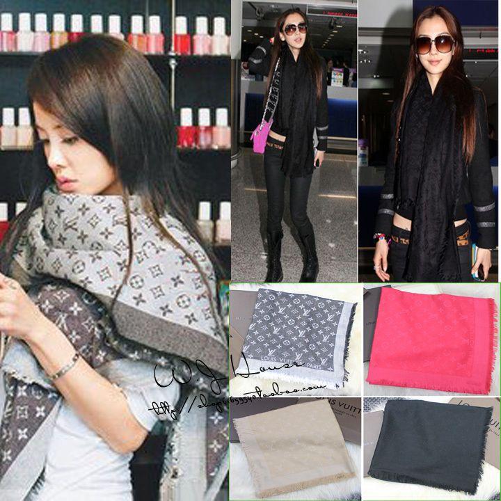 145cm*145cm New Fashion Style Brand Women High Quality Silk Scsrf Square Scarf Lady Designer Shawl Cashmere Scarf DNS $13.99