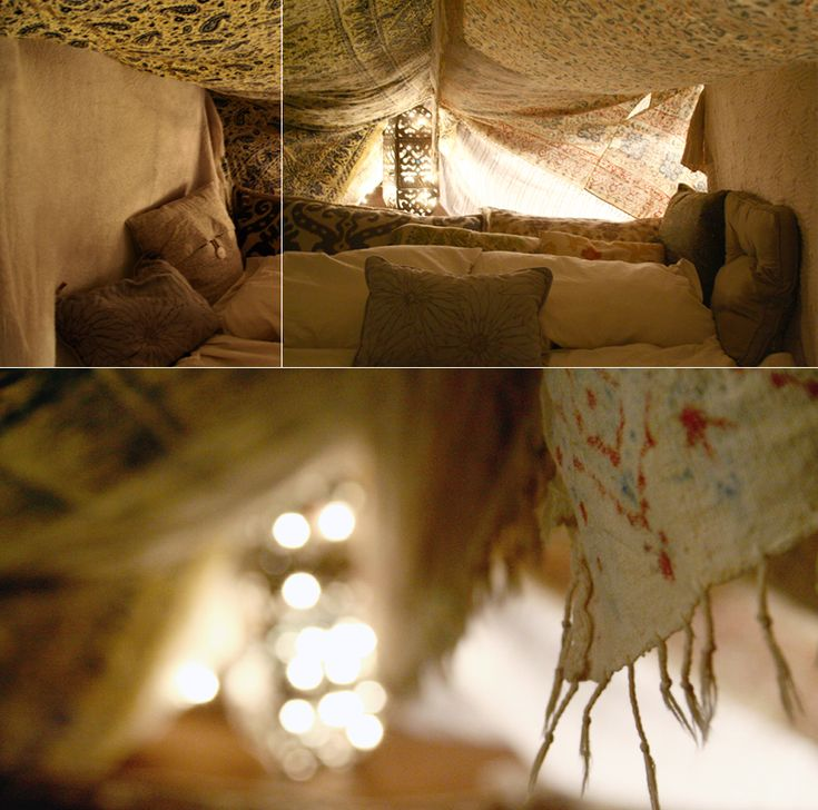 Build A Fort In The Middle Of Your Living Room Just For Fun This