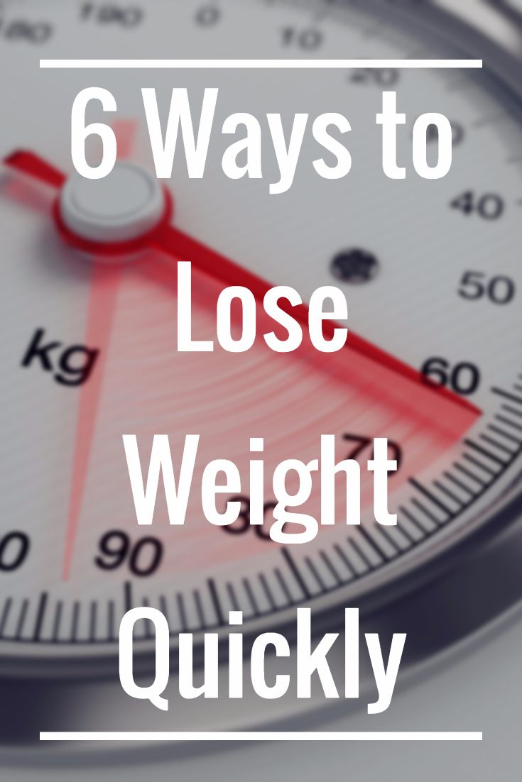 6 Ways to Lose Weight Quickly >> http://nutritionpowered.com/6-ways-lose-weight-quickly/