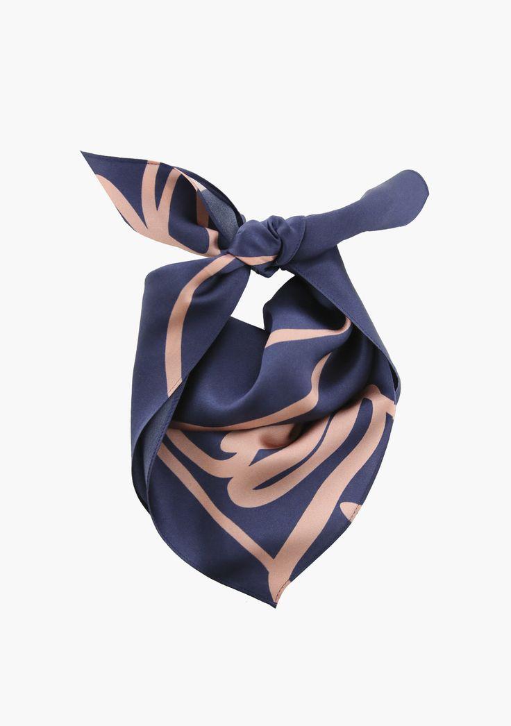 PATRICE  6thelabel.com @66thelabel #66thelabel #silkscarf #silkscarves #bandana #top #silktop #silkbandeau
