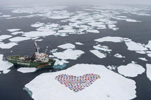 Arctic has a heart too