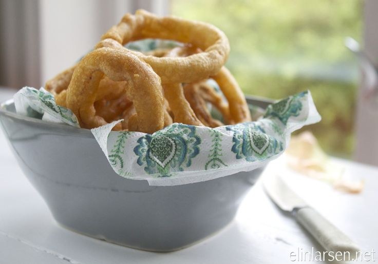 The best fried onion rings