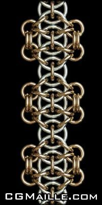 Free chain maille jewelry tutorials. There are several different patterns and the diagrams are really helpful.
