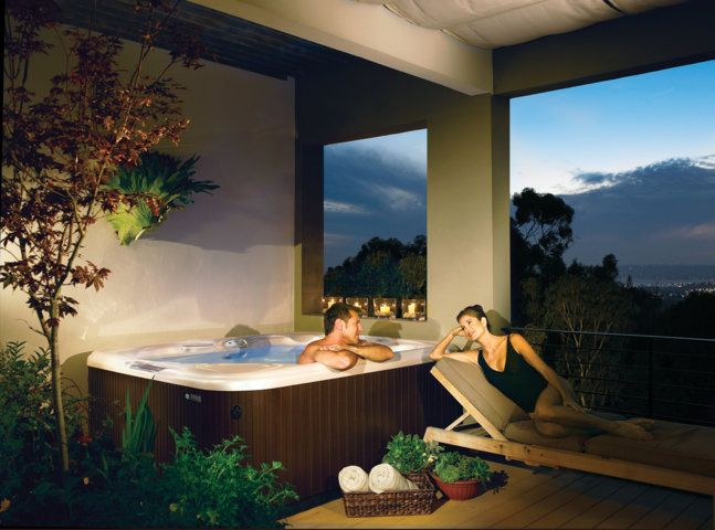 17 best hot tub ideas images on pinterest outdoor ideas for Mirani piscine