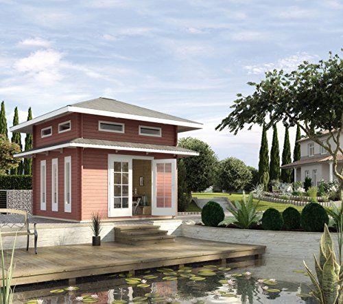 Weka Gartenhaus, Weekendhaus 157, 45 mm mit Schlafboden