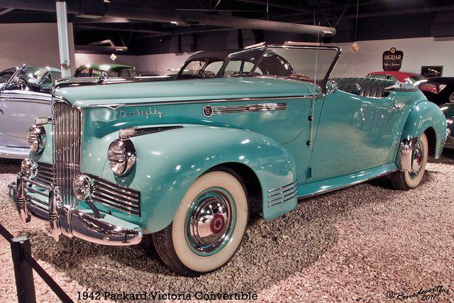 1942 Packard Victoria Convertible by Renodesertfox, via Flickr