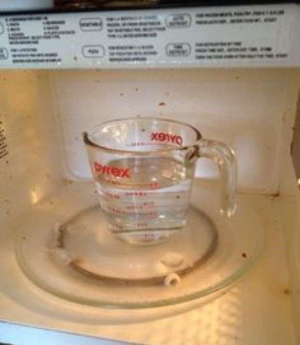 Tégy ecetet a mikróba! Csoda történik!