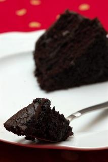 """Hershey's """"Especially Dark"""" Chocolate Cake"""