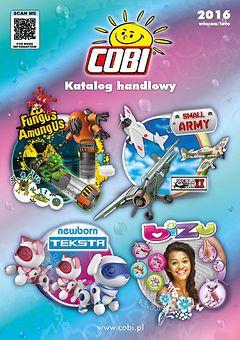 Katalog handlowy Cobi 2016 wiosna/lato