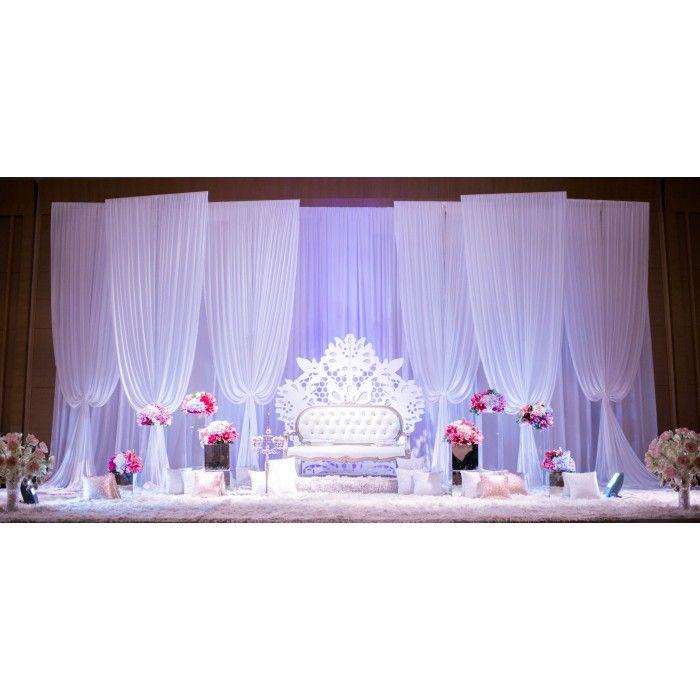 Malay Traditional Reception Decorations - Pelamin