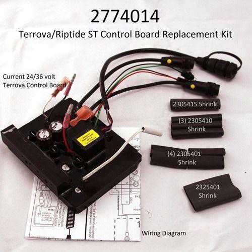 2774014 Minn Kota Riptide St Terrova Control Board 24 Volt 36 Volt 2324012 Minn Kota Riptide Minn Kota Boat Parts