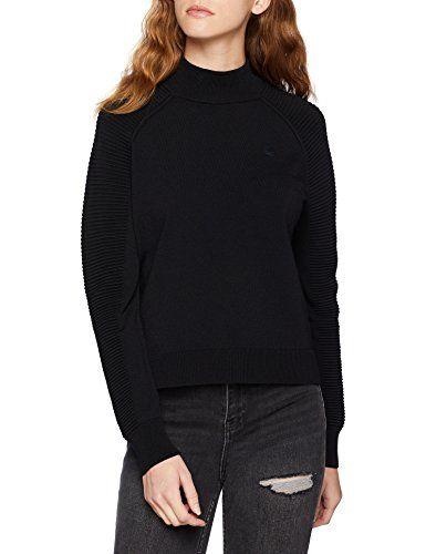 online store 8ee35 1e667 G-STAR RAW Damen Pullover Suzaki Mock Turtle Knit Wmn L/S ...
