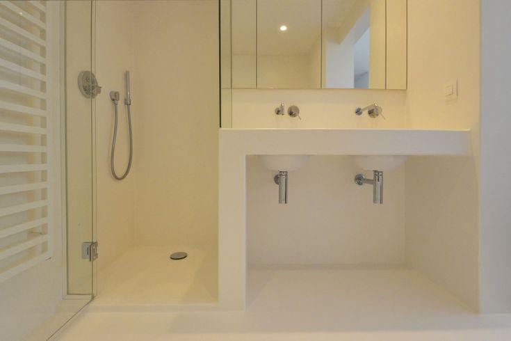 25 beste idee n over douche wanden op pinterest douche tegel ontwerpen muurtegel en kiezel - Ontwerp badkamer model ...