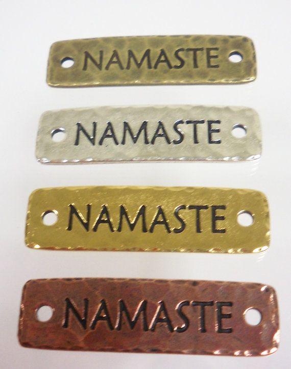 Joyería que hace fuentes: Tierracast Namaste por LadyBugBeadsSTL