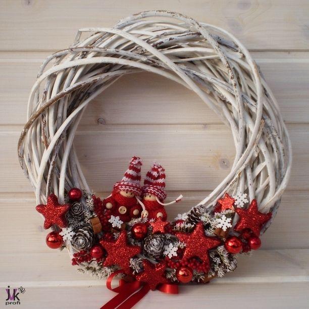 Vánoční věnec Magdalena