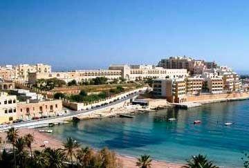 Listado playas de Malta, mapa