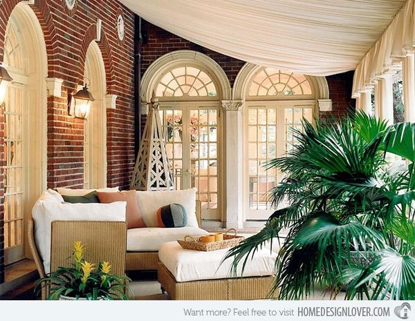 15 Cozy Outdoor Spaces with Fabric Canopy