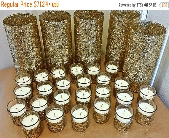 ON SALE Wedding Centerpiece Set, Gold Wedding Centerpiece, wedding, wedding decorations, gold wedding, wedding favors, bridal shower, weddin by EverydayDesignEvents on Etsy https://www.etsy.com/listing/233727833/on-sale-wedding-centerpiece-set-gold