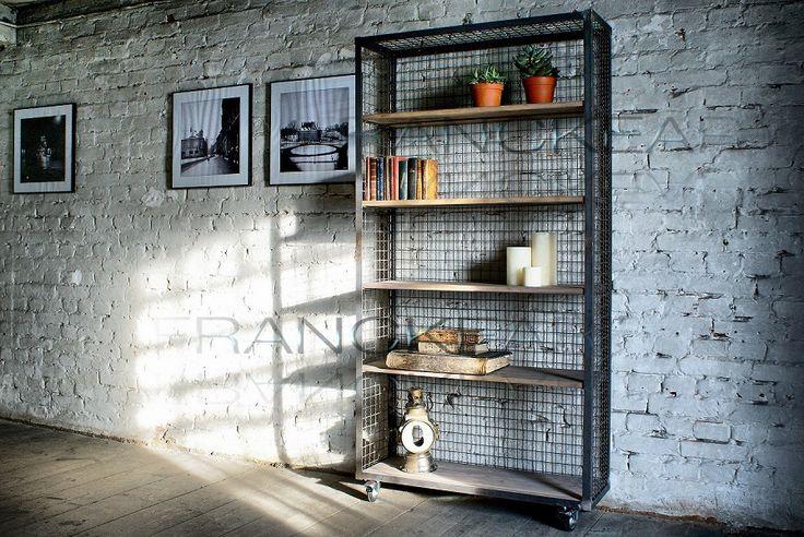 Regał loft z serii CRATIS - Francke Art