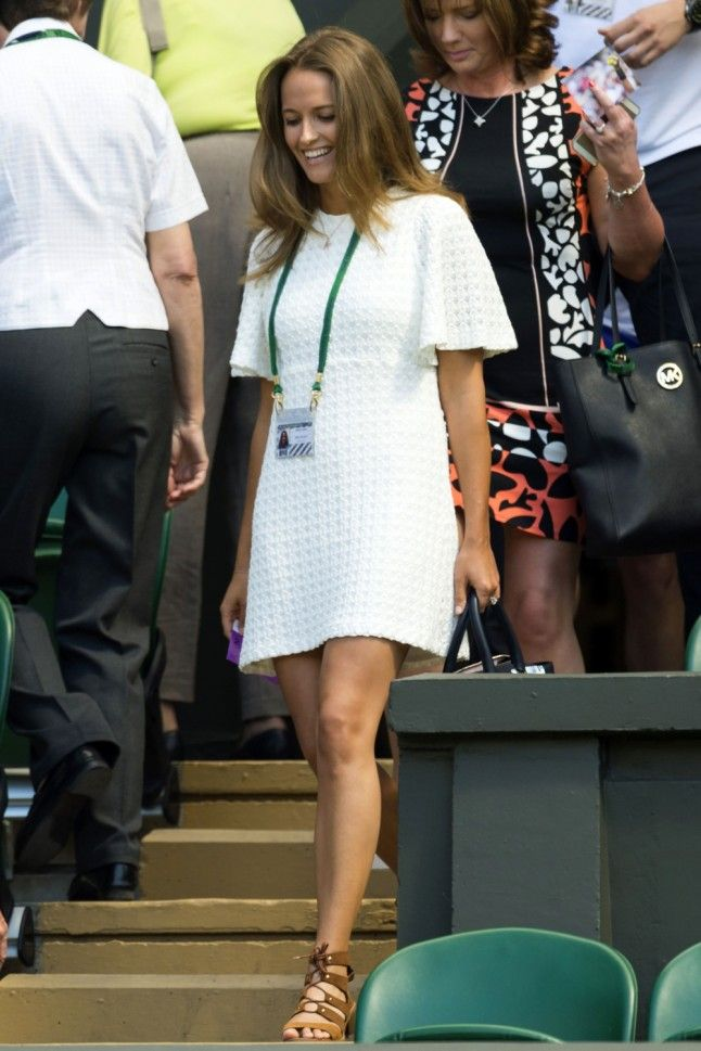 Kim Sears Trades Tennis Whites For An LBD At Her Latest Wimbledon Outing