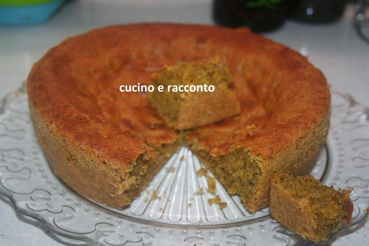 ------------  Cucino e Racconto------------: Torta al pistacchio