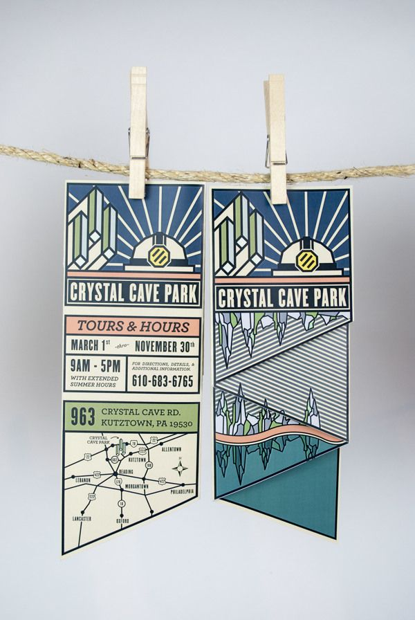 CRYSTAL CAVE PARK by Keith Lowe, via Behance