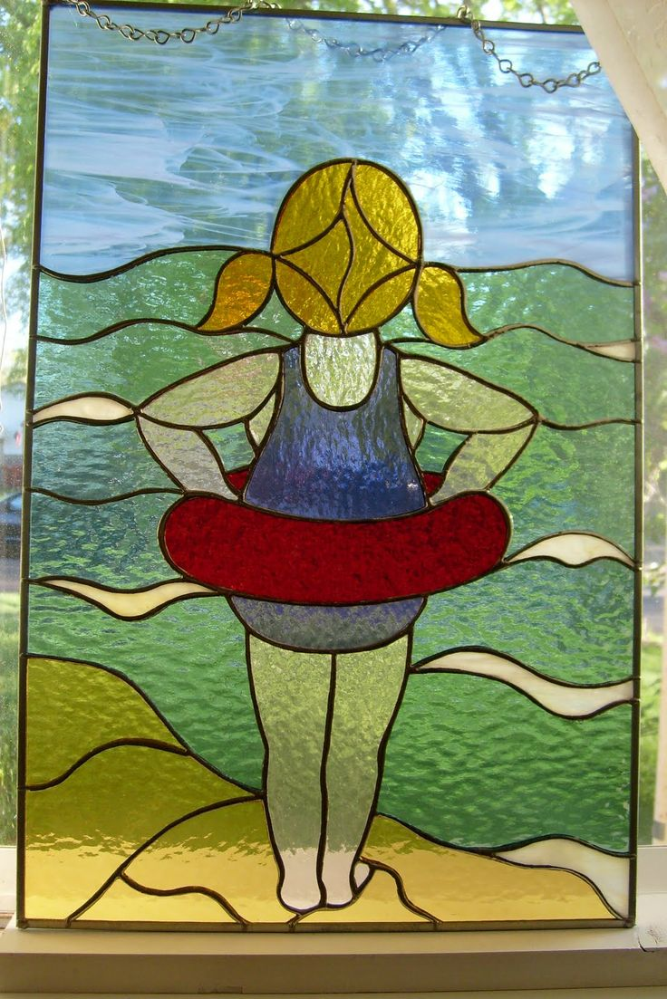 53 Best Images About Stained Glass Beach Scenes On