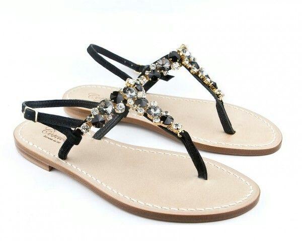 sandali positano sandali gioiello sandali swarovski sandali fatti a mano sandali capresi