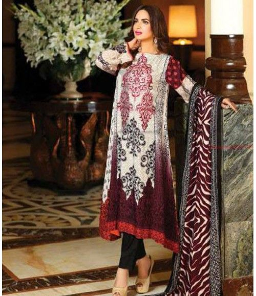 Lala Classic Embroidered Linen Suits collection LLE_04B