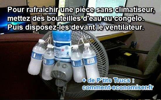 Au lieu d'acheter un climatiseur hors de prix et qui va vous coûter cher en électricité, pensez à ce truc tout simple pour rafraîchir une pièce de votre maison.  Découvrez l'astuce ici : http://www.comment-economiser.fr/comment-rafraichir-une-piece-sans-climatiseur.html?utm_content=bufferc2e9c&utm_medium=social&utm_source=pinterest.com&utm_campaign=buffer