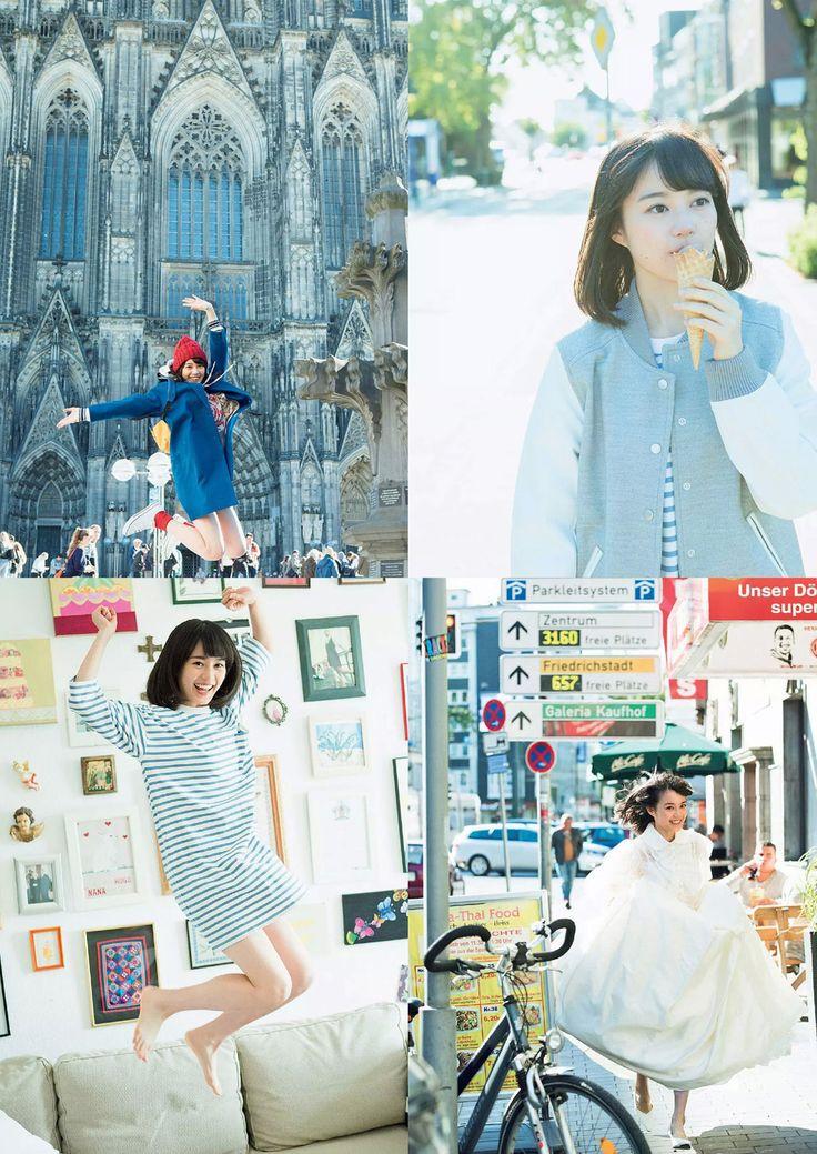 46wallpapers: Erika Ikuta - WPB | 日々是遊楽也