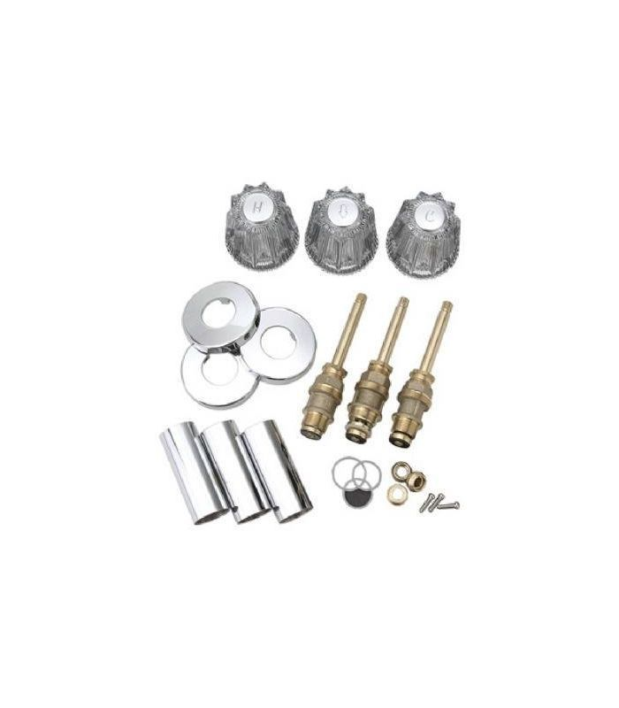 Pfister S10-220 Windsor Acrylic Tub and Shower Repair Kit Polished ...