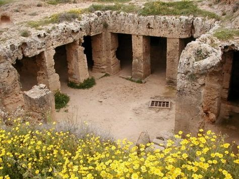 Tomb of Kings - Paphos, Cyprus