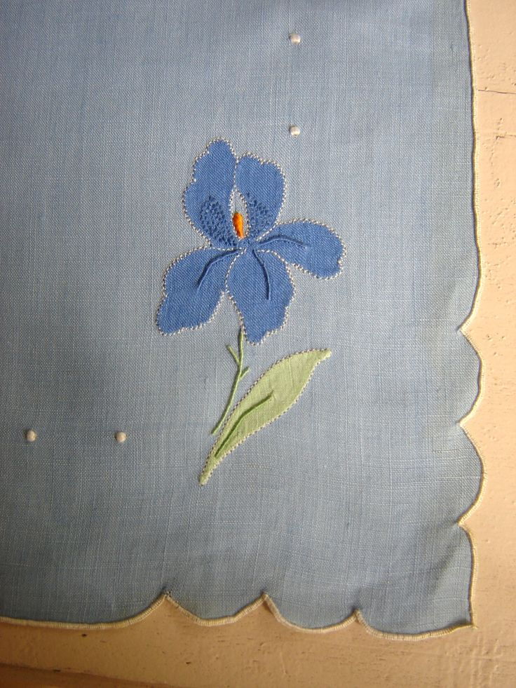 Love Madeira Applique Embroidery.