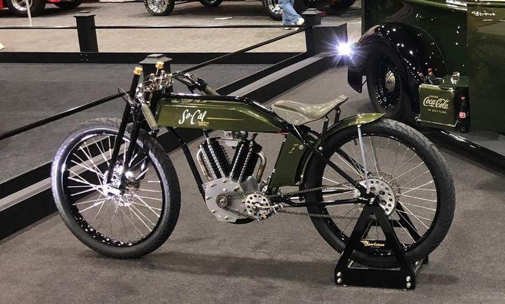Vintage MidDrive Electric Indian Electric bike