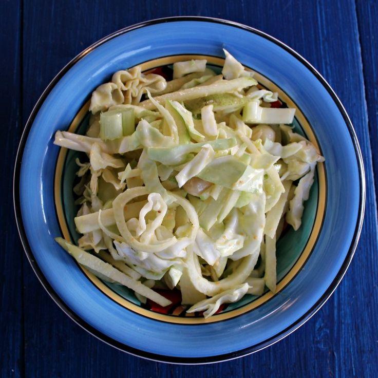Fennel & Cabbage Slaw