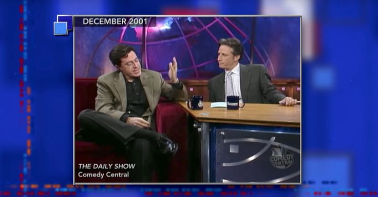 This Is Colbert's Most Favorite 'Daily Show' Bit With Jon Stewart