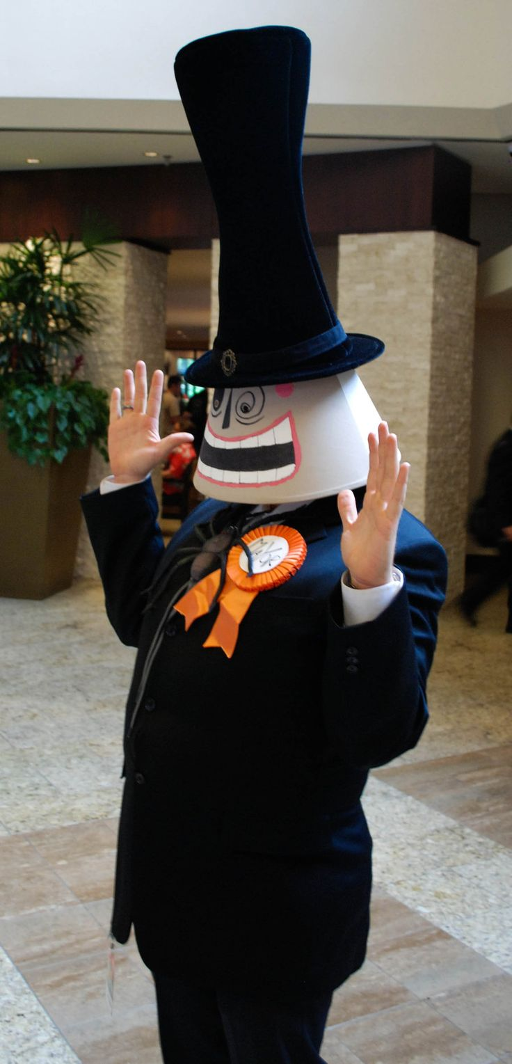 Halloween Town Mayor from The Nightmare Before Christmas. View more EPIC cosplay at http://pinterest.com/SuburbanFandom/cosplay/