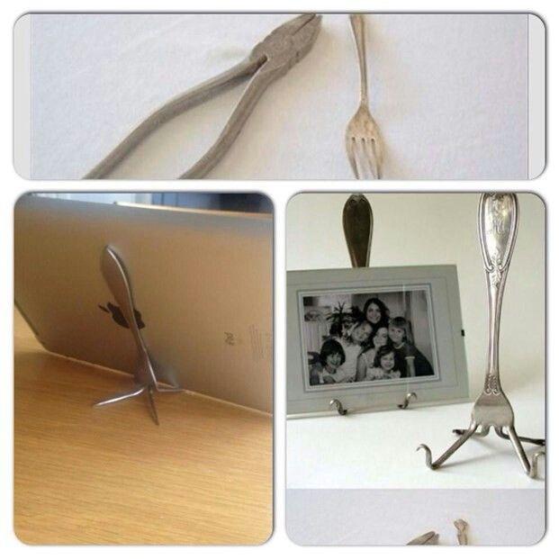 I-pad ställ av gaffel