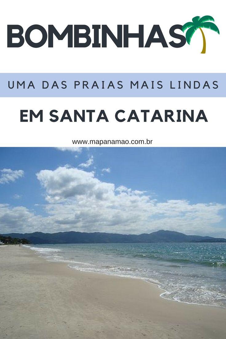Um paraíso imperdível em Santa Catarina - Bombinhas. Leia aqui sobre suas praias e venha logo!