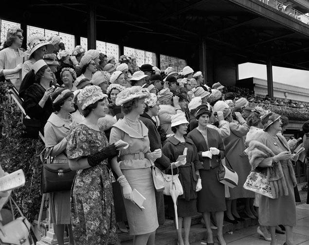 The Melbourne Cup, 1960.
