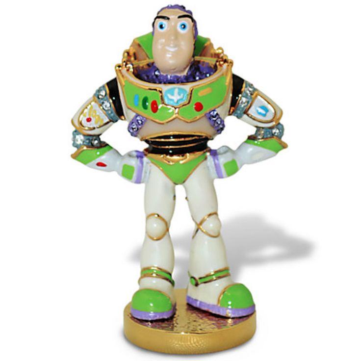 Disney Toy Story Buzz Lightyear Jeweled Figurine by Arribas New