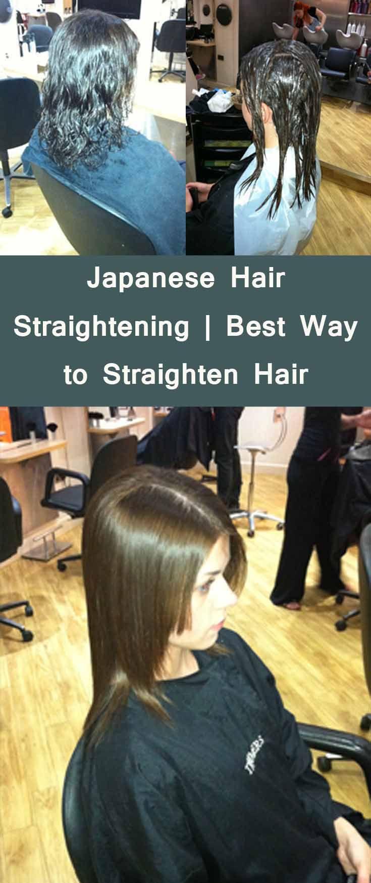 Japanese Hair Straightening Hair Straightening Ideas Pinterest