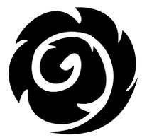 """Il Koru (letteralmente """"spirale"""") è una foglia di felce che si dispiega e prende vita. Pei i Maori rappresenta la vita e la rinascita. Questo simbolo è molto importante per l'arte maori, specialmente per i tatuaggi."""