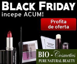 Reduceri si oferte produse si servicii: Reduceri de 60% la Cosmetice Bio!